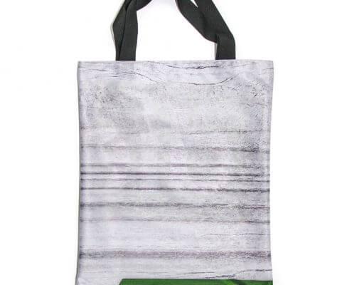 Upcycling Tasche aus Stoffbanner