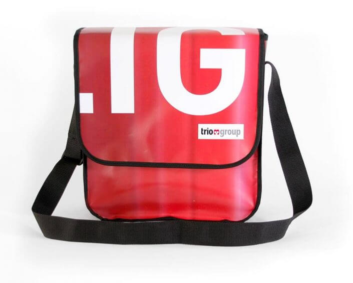 Recycling Taschen für Trio-Group