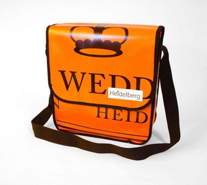 Upcycling Tasche aus Banner der Stadt Heidelberg