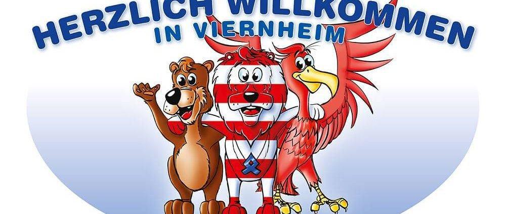 PVC Banner der Stadt Viernheim
