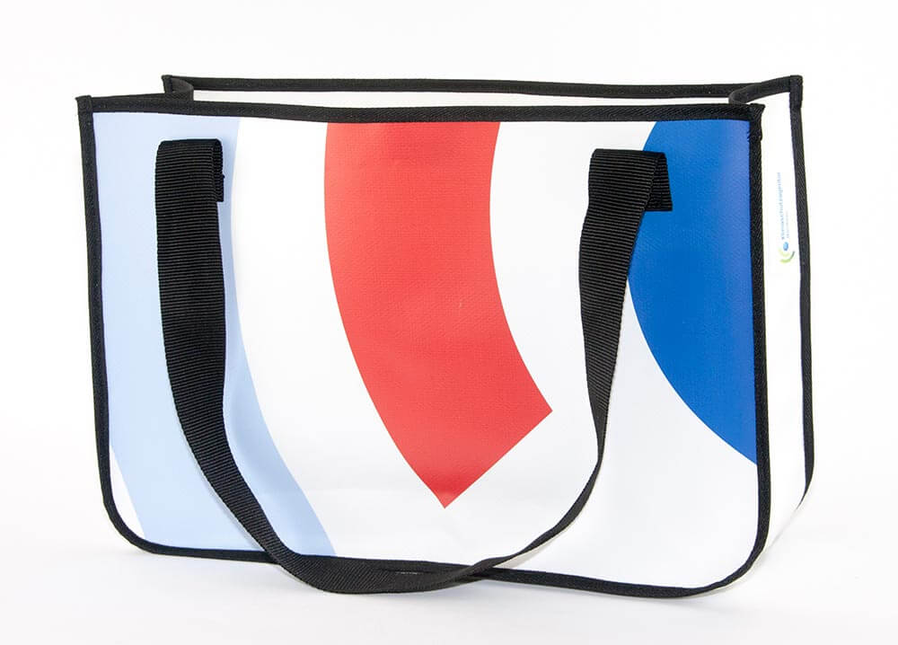 Upcycling Tasche aus PVC-Banner