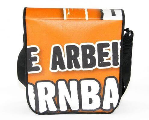 eine Upcycling Tasche für Hornbach