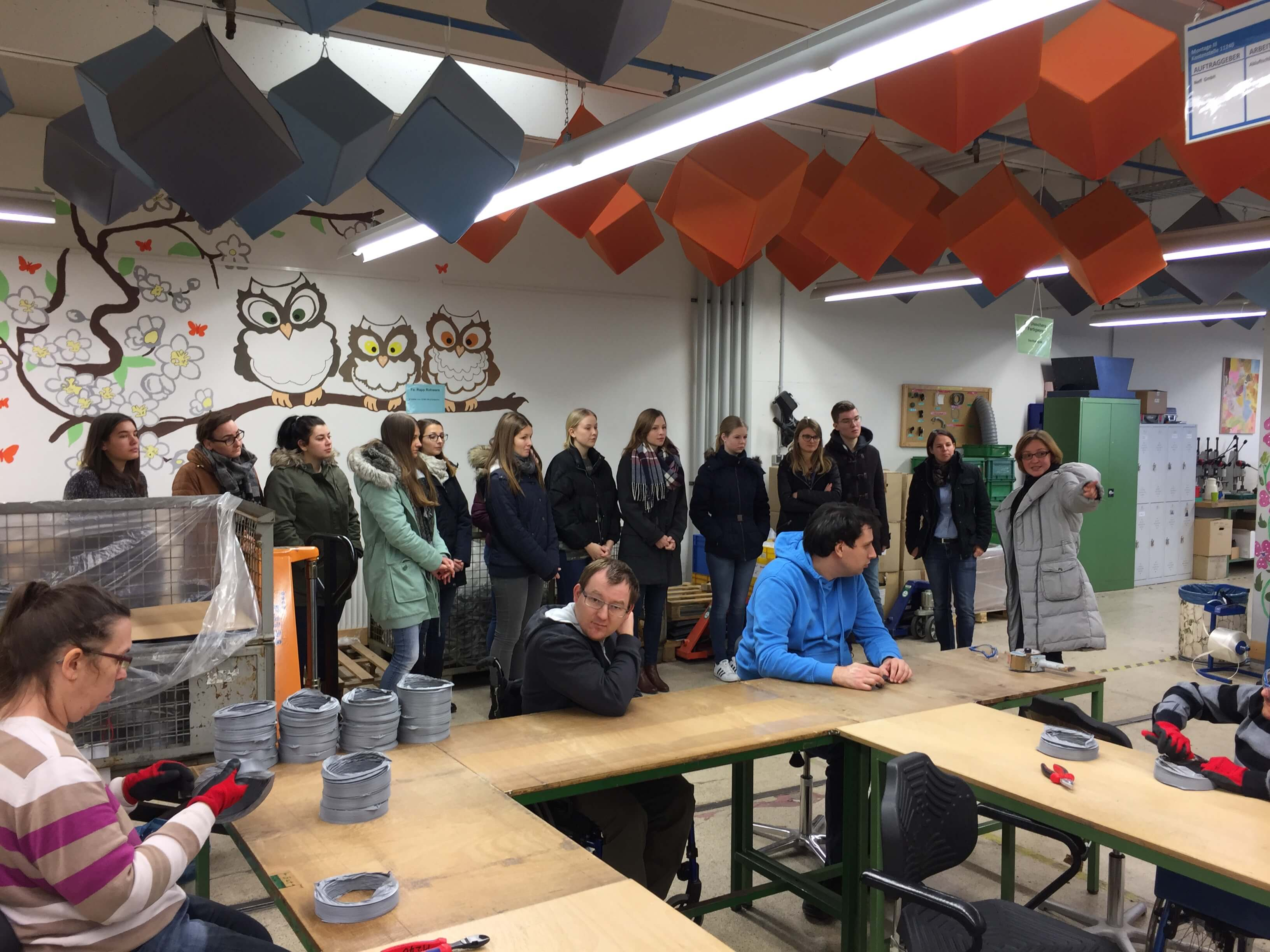 Besuch Hochschule fuer internationales Management heidelberg bei COMEBAGS