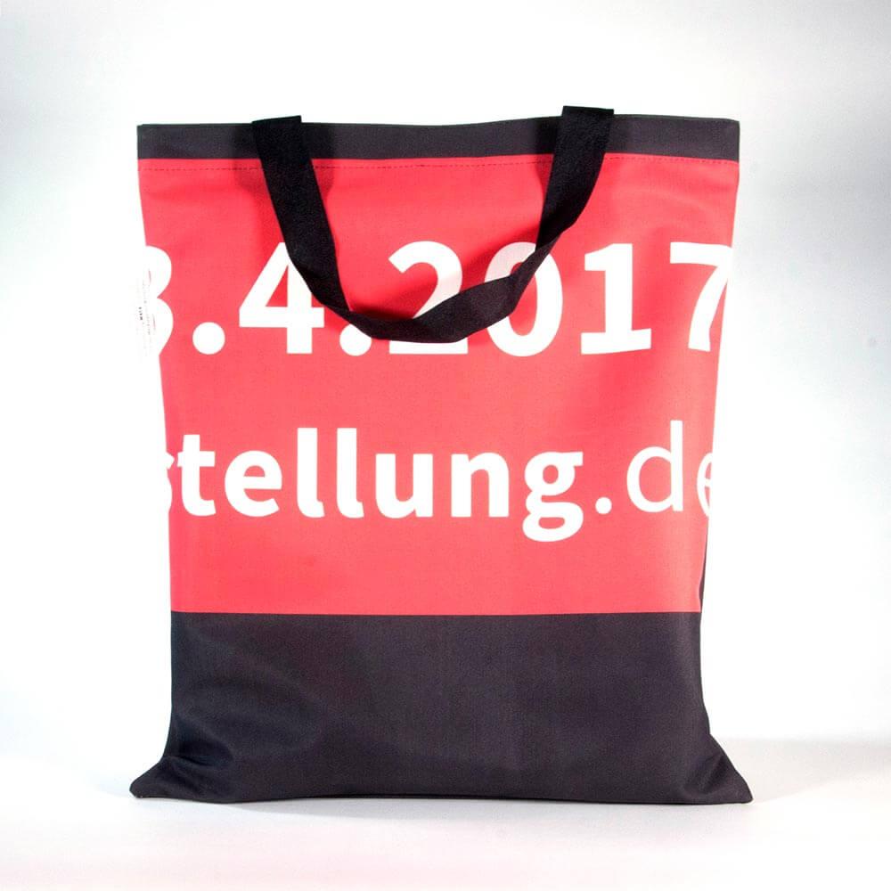 Einkaufstasche aus Textilbanner