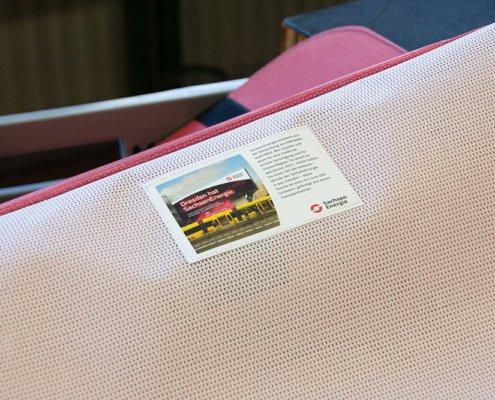 Sachsen Energie Näharbeiten Recycling Upcycling Tasche aus Banner
