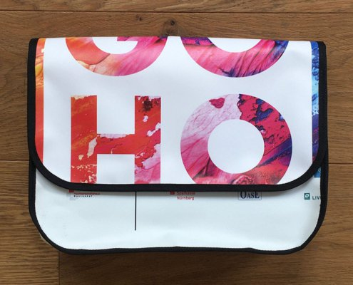 GoHo Recycling Upcycling Tasche aus Banner