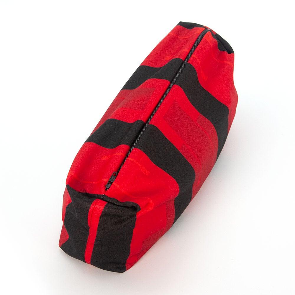 Kulturtasche aus Fussball Trikot furch Recycling Upcycling