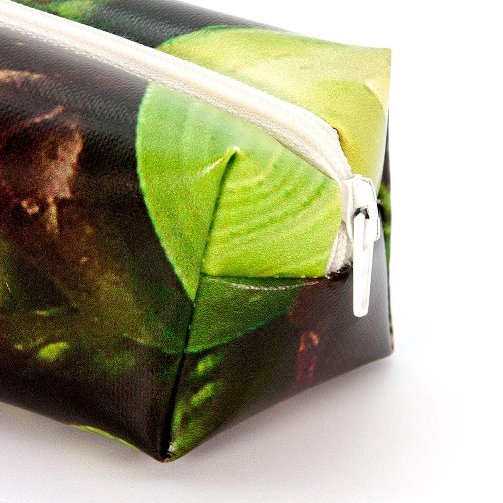 Schlampermäppchen aus PVC oder Mesh Banner durch Recycling Upcycling