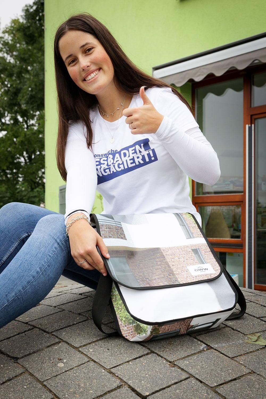 GWW Recycling Tasche aus Banner