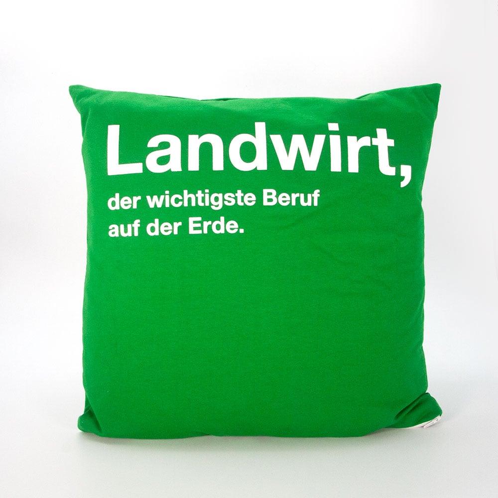 Couch-Kissen aus wiederverwertetm T-Shiert